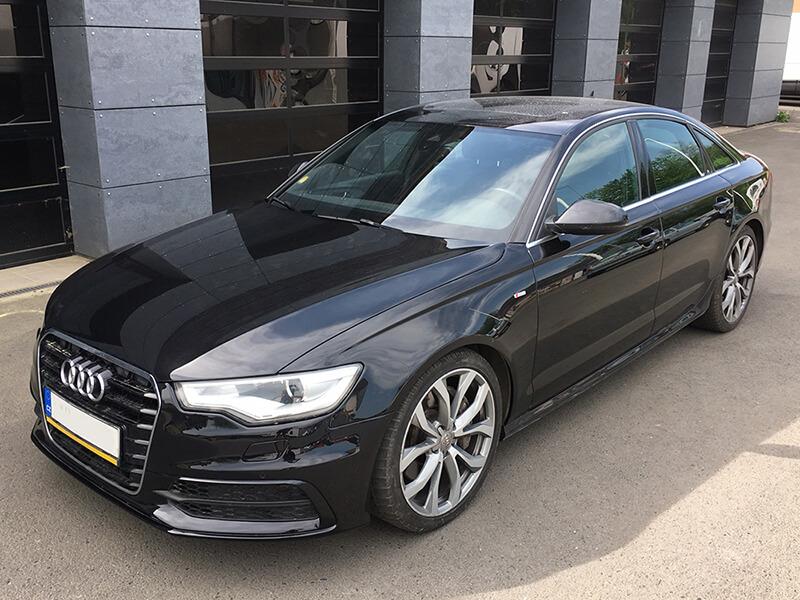 Auto z půjčovny aut BESKYD servis Audi A6