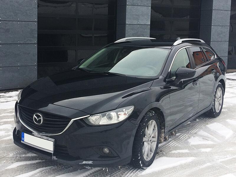 Auto z půjčovny aut BESKYD servis Mazda 6