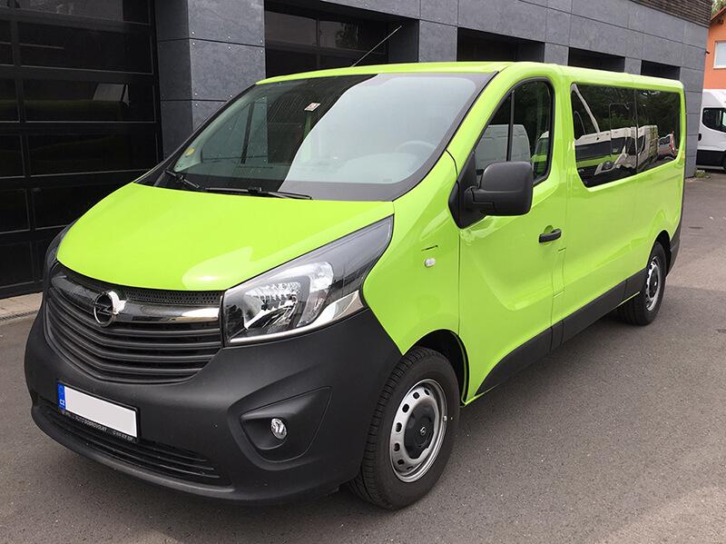 Dodávka Opel Vivaro