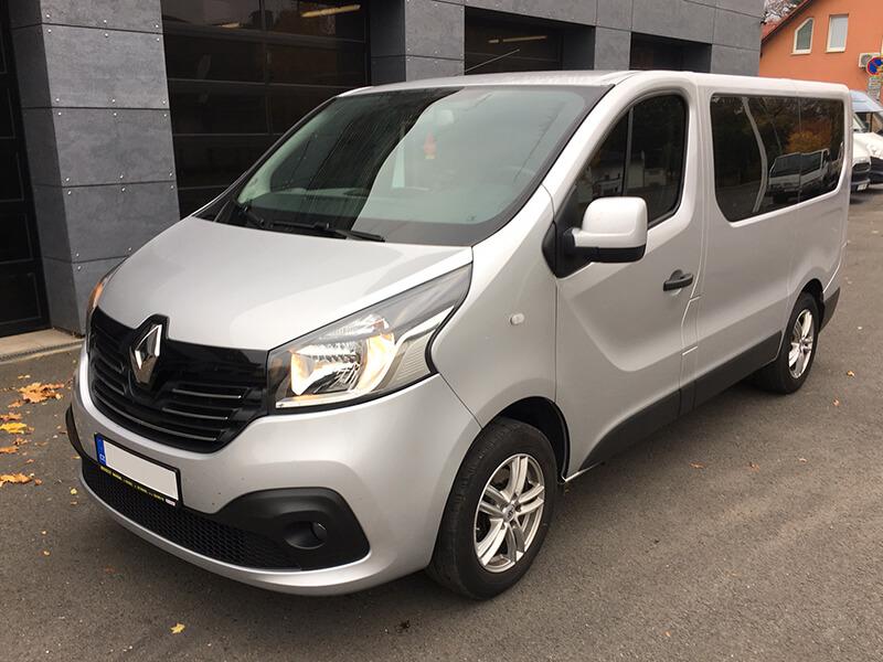 Vícemístná dodávka Renault Trafic