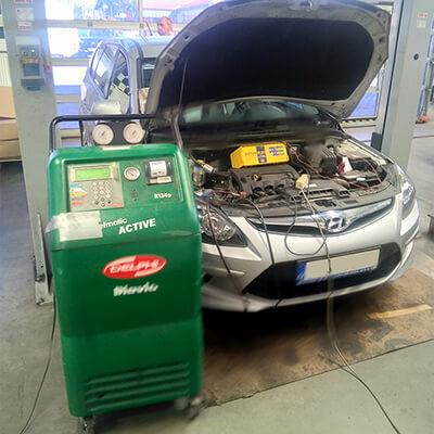 Reference plnění klimatizace auta Hyundai